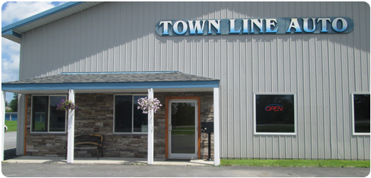 Front of Townline Auto