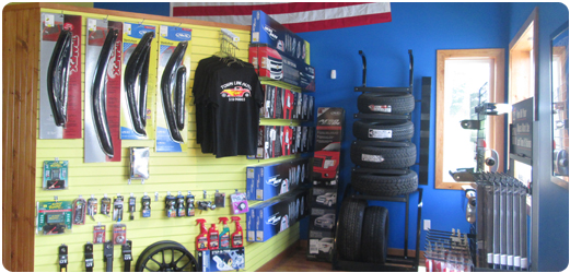 Inside of Townline Auto