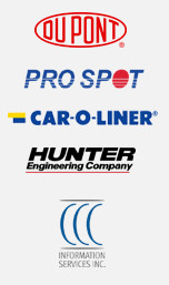 Dupont | Pro Spot | Car-O-Liner | Hunter Engineering Company | CCC Information Services