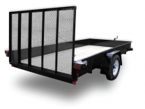 2014 CAR-MATE 6X14 Steel Sided Trailer
