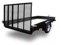2014 CAR-MATE 6X14 Steel Sided Trailer
